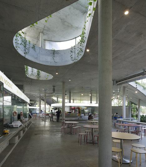サムネイル:リンハオ・アーキテクツ+KUUによるシンガポールの「ガーデンフードパビリオン/ SATAY BY THE BAY」