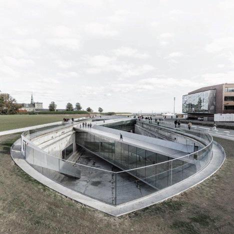 サムネイル:BIGによる「デンマーク国立海洋博物館」