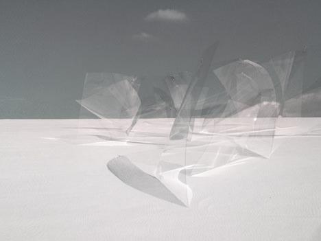 サムネイル:岩瀬諒子 / 岩瀬諒子設計事務所による、「U30ガラス建築の設計競技」の最優秀賞作品「KUSANAMI」