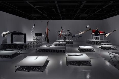 サムネイル:TAKT PROJECTが会場構成を手掛けたヤマハデザイン研究所50周年企画展「DESIGN RECIPE」