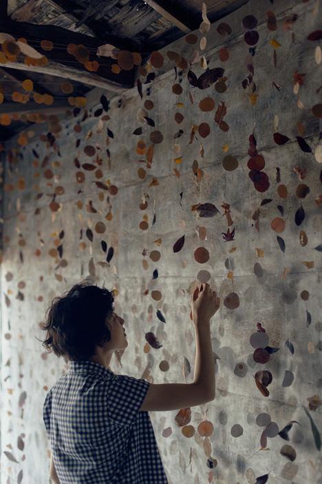 サムネイル:田中亮平 / G architects studioによる「葉っぱの涼屋」