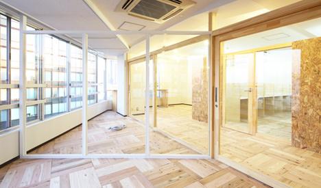 サムネイル:ツバメアーキテクツによる東京都渋谷区のオフィス「SML」