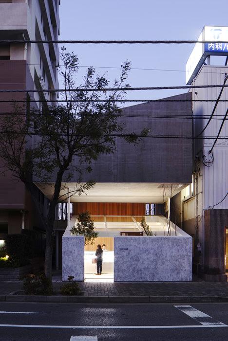 サムネイル:永山祐子 / 永山祐子建築設計による千葉・八千代の店舗兼住宅「勝田台のいえ」