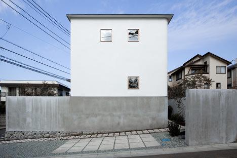 サムネイル:upsetters architectsによる神奈川・藤沢の住宅「House in Kugenuma」