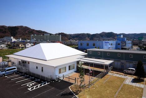 サムネイル:石嶋設計室+小松豪一級建築士事務所による福島の「かなや幼稚園」