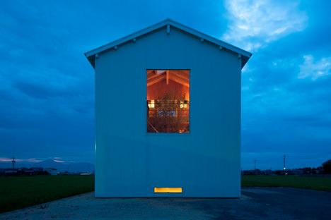 サムネイル:米田雅樹 / ヨネダ設計舎による三重・松阪の住宅「4+1HOUSE」