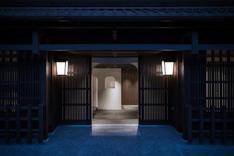 サムネイル:永山祐子 / 永山祐子建築設計による京都・中京区の和食レストラン「IZAMA」