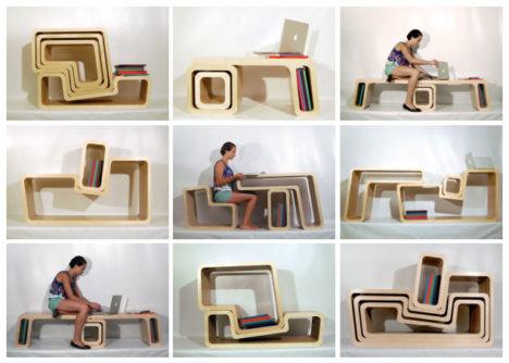 サムネイル:山本純子 / Yamamoto dEsign Studioがボストン建築大学・ハーバード大学の学生と制作した「チャイナタウン・ライブラリーの家具」