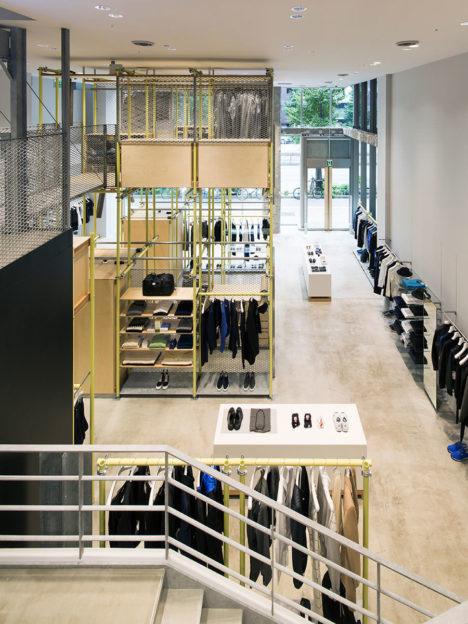 サムネイル:長坂常 / スキーマ建築計画による東京・銀座の店舗「EN ROUTE GINZA」