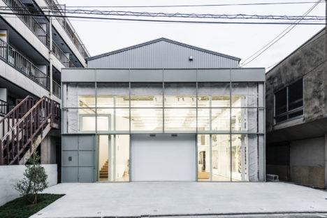 サムネイル:長坂常 / スキーマ建築計画による東京都墨田区の「高橋理子押上スタジオ」