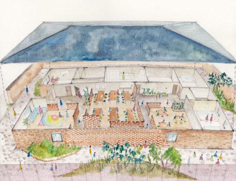 サムネイル:1-1 Architectsが計画を進めている、ジンバブエの児童養護施設「HC3 – Harare Child Care Center –」