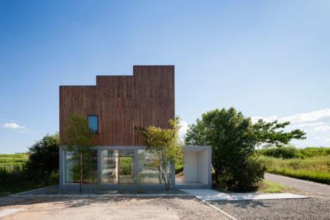 サムネイル:井原正揮による愛知県豊田市の住宅「風景を通す家」