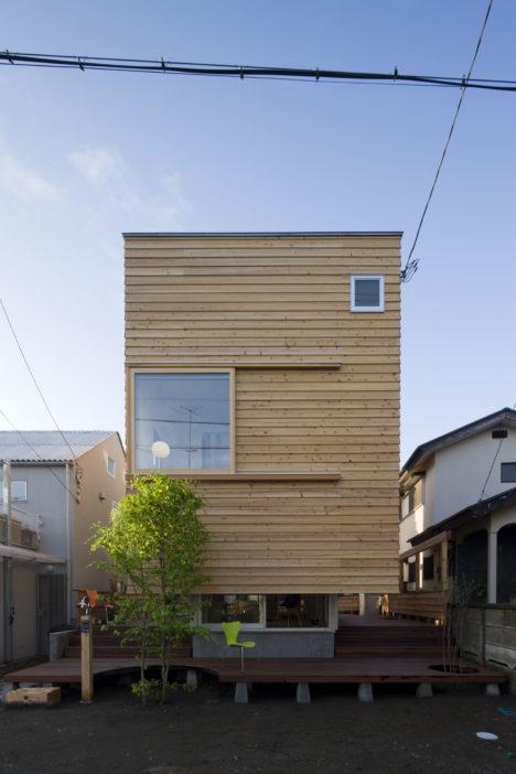 サムネイル:岸本和彦 / acaaによる神奈川県茅ヶ崎市の住宅「木箱の家」