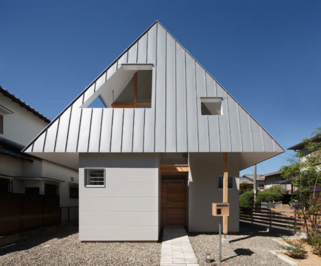 サムネイル:門間香奈子+古川晋也 / モカアーキテクツによる奈良の住宅「houseAA」