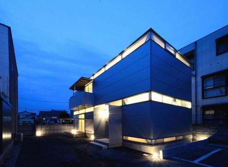 サムネイル:原田将史+谷口真依子 / Niji Architectsによる東京都江戸川区の住宅「LGS HOUSE #01/ボーダーの家」