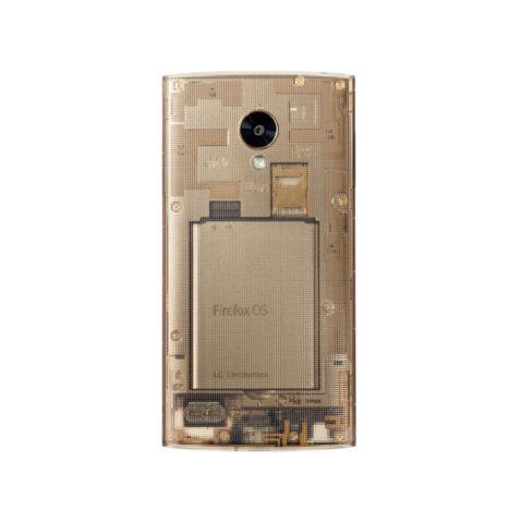 サムネイル:吉岡徳仁による、auのFirefox OSを搭載した携帯電話「Fx0」