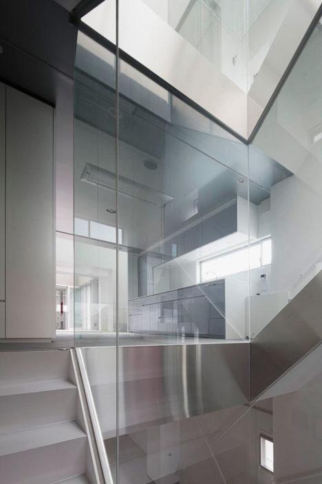サムネイル:諸江一紀建築設計事務所による愛知県名古屋市の「御器所の住宅」