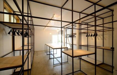 サムネイル:原田将史+谷口真依子 / Niji Architectsによる東京都世田谷区奥沢の店舗「THE KIRINTAILORS SHOP」