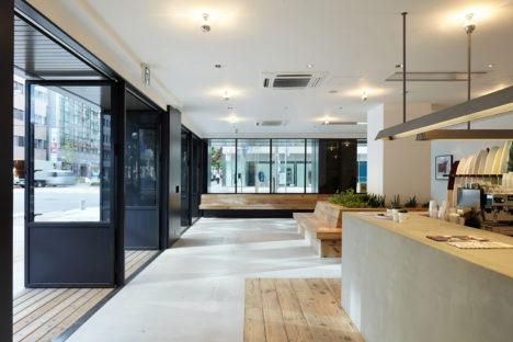 サムネイル:大堀伸 / ジェネラルデザインによる神戸・旧居留地の店舗「SATURDAYS SURF KOBE」