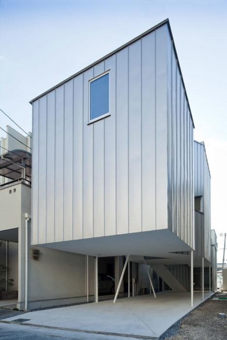 サムネイル:竹口健太郎+山本麻子 / アルファヴィルによる大阪の住宅「DIG IN THE SKY」