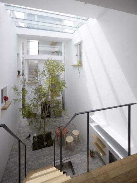 サムネイル:MAMM DESIGNによる、東京都世田谷区の住宅「ミンナノイエ」