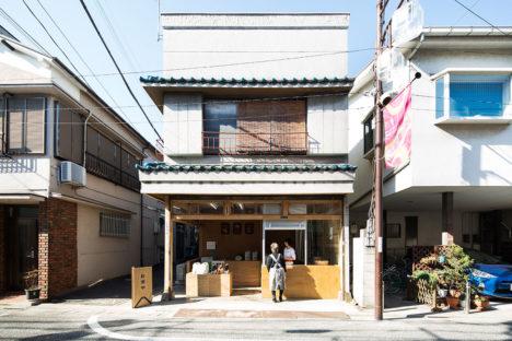 サムネイル:長坂常 / スキーマ建築計画による、東京都品川区戸越の店舗「お米や」