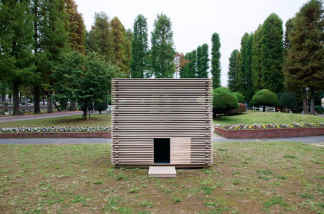 サムネイル:水谷隼人+山本恭代+山崎千恵による「旅する小さな家」