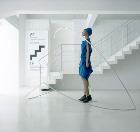 サムネイル:中村竜治建築設計事務所による、132 5.ISSEY MIYAKE「CIRCULAR」のためのインスタレーション「円を折る」