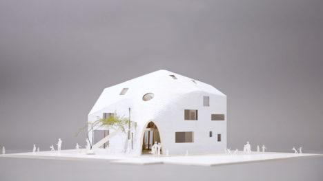 サムネイル:MAD Architectsによる、日本初のプロジェクト、愛知県岡崎市の住居兼幼稚園「クローバーハウス」