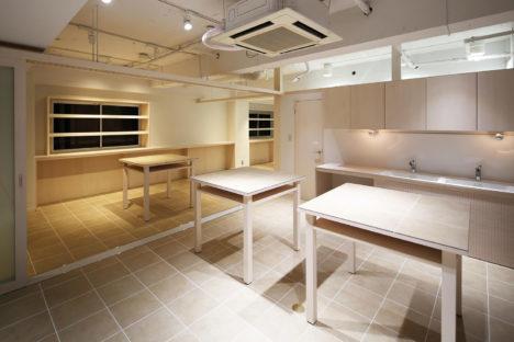サムネイル:ツバメアーキテクツによる「銀座のお料理教室