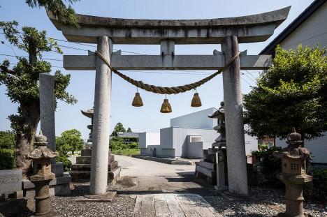 サムネイル:フォルム・木村浩一建築研究所による、滋賀県長浜市の住宅「風景をつなぐ家」