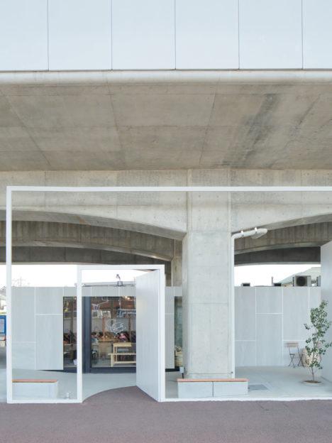 サムネイル:リライトデベロップメントによる、東京都小金井市の「中央線高架下プロジェクト コミュニティステーション東小金井/モビリティステーション東小金井」