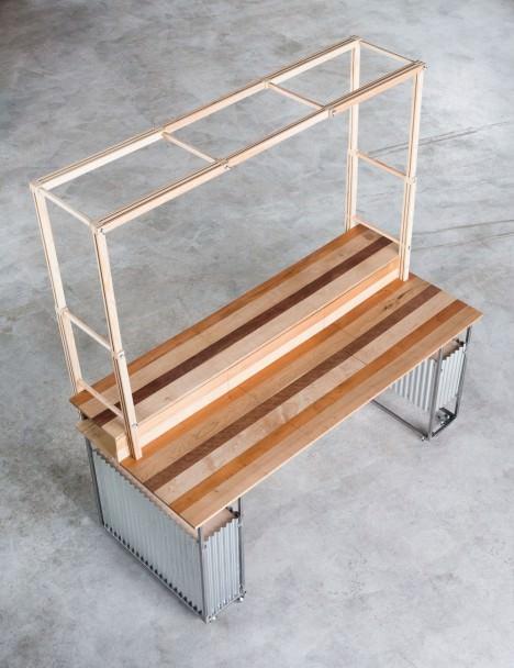 サムネイル:宮城島崇人建築設計事務所による、物産展や催事にも対応する移動型店舗「Tabi-Mise」