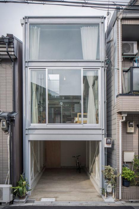 サムネイル:山本嘉寛建蓄設計事務所 / 山本嘉寛による、大阪市旭区の住宅「『 』の家」