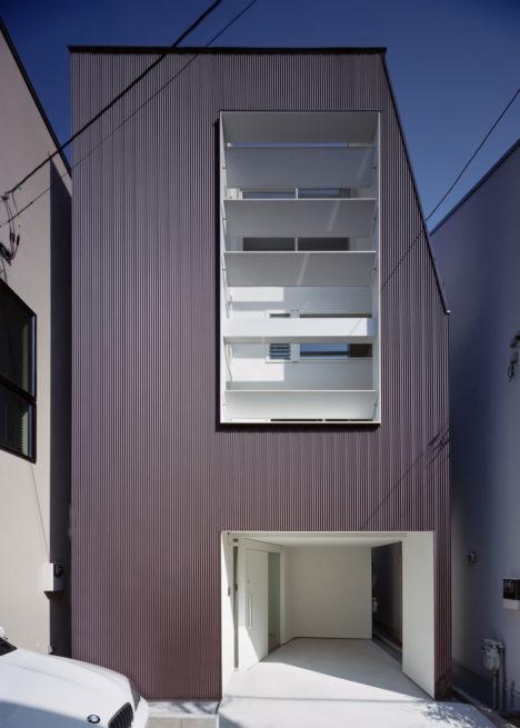 サムネイル:山崎壮一建築設計事務所による東京の住宅「世田谷の家」