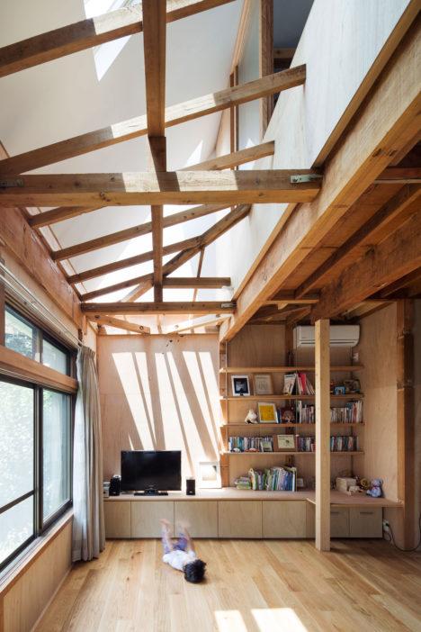 サムネイル:光本直人+濱名直子 / ミハデザインによる、東京都渋谷区の住宅の改修「kn1983-」