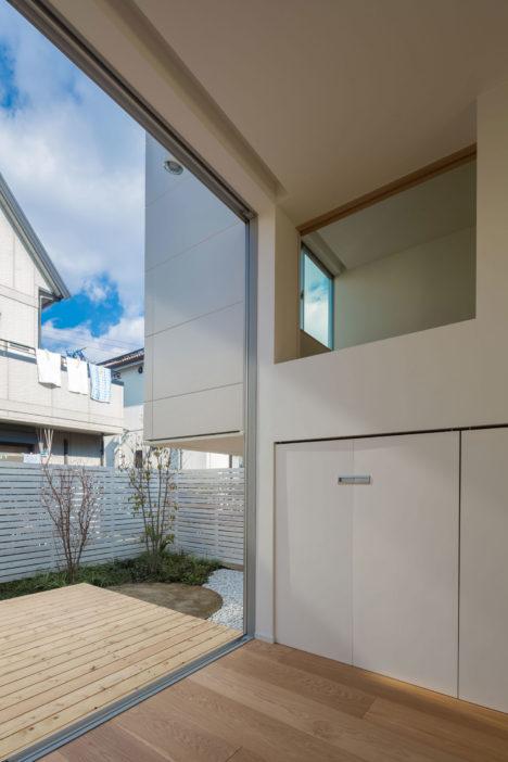サムネイル:諸江一紀建築設計事務所による、愛知の「尾張旭の住宅」