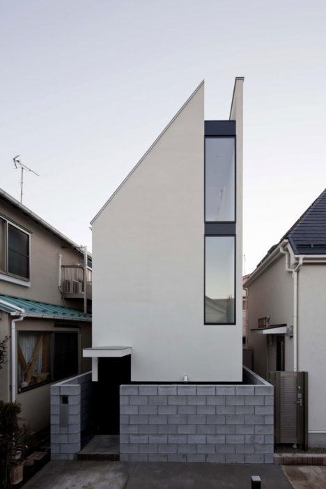 サムネイル:山本浩三建築設計事務所による、東京・渋谷区の住宅「ST-HOUSE」