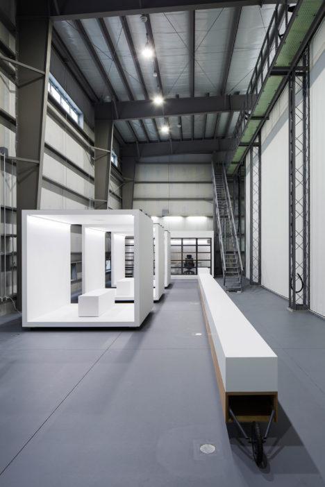 サムネイル:POINT+丹青社による、茨城の、実験施設+ギャラリー「筑波大学エンパワースタジオ」