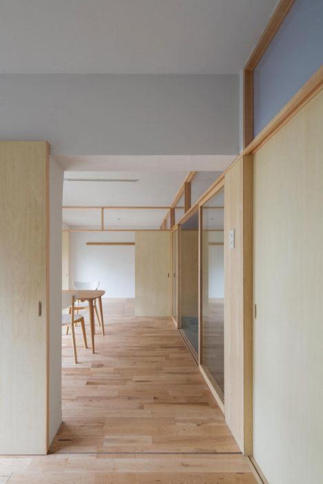 サムネイル:藤田雄介 / Camp Design inc.による、築45年程の団地の1室のリノベーション「夏見台の住宅」