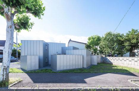 サムネイル:五十嵐淳建築設計事務所による、北海道旭川市の住宅「house D」