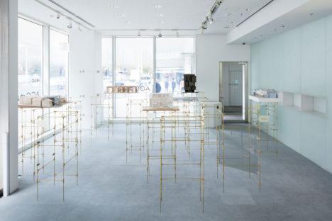 サムネイル:山田紗子建築設計事務所による、京橋のAGCスタジオでの建築模型の展覧会「新しい建築の楽しさ」の会場構成