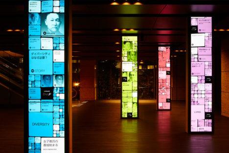 サムネイル:齊藤良博 / エイスタディがインテリアデザインを担当した、三井住友銀行東館2Fの金融ミュージアム「金融/知のLANDSCAPE」