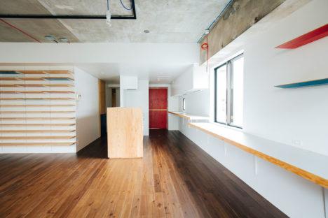 サムネイル:田中亮平 / G architects studio + Style & Decoによる、東京の住宅「bico / 練馬の住拠」