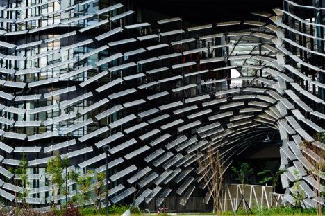 サムネイル:ノイズがファサード等のエクステリアデザインを手掛けた、台湾の「工業技術研究院中分院(ITRI)エクステリア・デザイン」