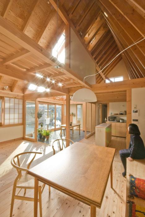 サムネイル:千田友己+千田藍による、千葉の住宅「柏の平屋