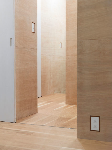 サムネイル:大野友資 / DOMINO ARCHITECTSによる、神奈川県川崎市のマンションの一室の改装「J House」