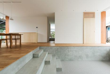 サムネイル:若林秀典建築設計事務所による、滋賀の住宅「米原の家」