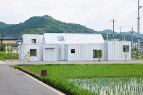 サムネイル:北村直也 / 北村直也建築設計事務所による、岐阜県山県市の「田園の住宅」