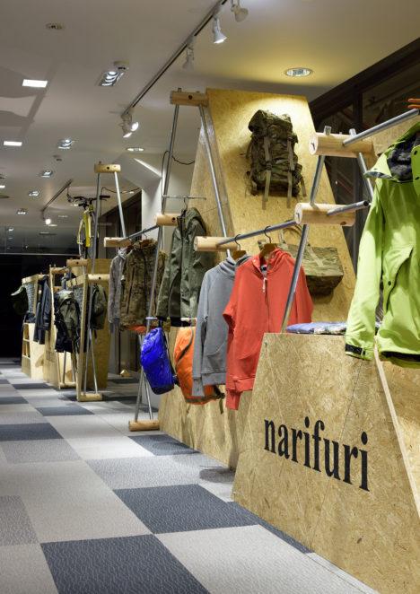 サムネイル:GENETOによる、都市型サイクリングブランドのポップアップショップ「narifuri」